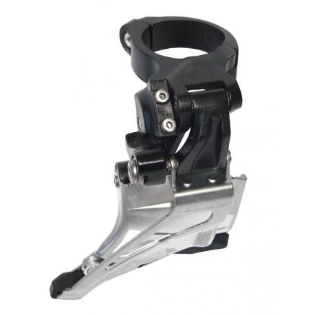 Deragliatore Shimano Deore Down Swing FD-M618HTX6, Top Pull, 66-69°nero High-C