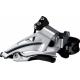 Deragliatore Shimano Deore Top Swing FD-M618LX6, Down Pull, 66-69°nero Low-C