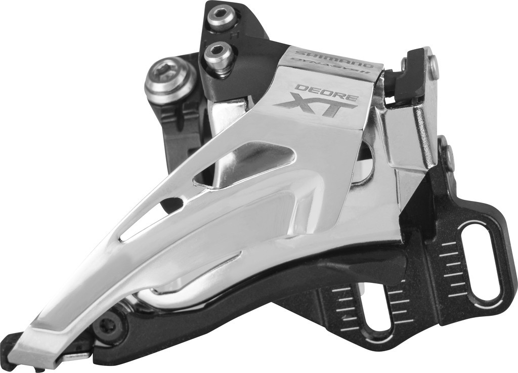 Deragliatore Shimano Deore XT Top Swing FD-M8025ED6X, Down Pull, 66-69° E-Typ