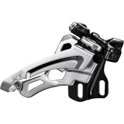 Deragliatore Shimano Deore XT Side Swing FD-M8000E6X, Front Pull, 66-69° E-Typ
