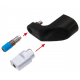 Protezione cambio Alu CNC per assali a tensione rapida