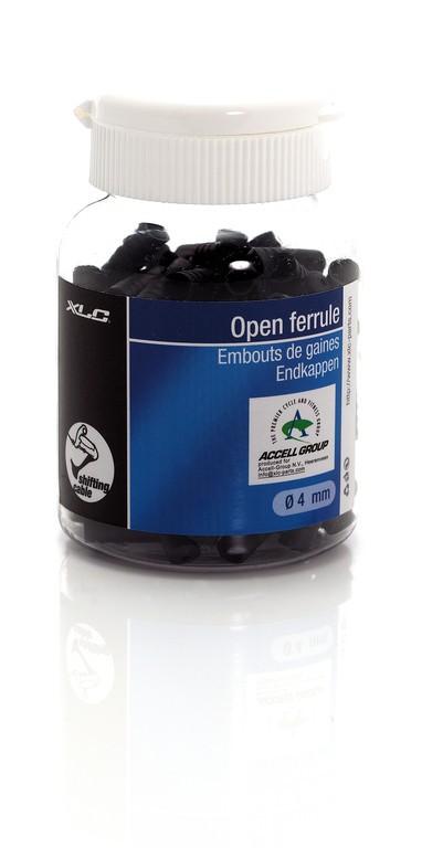 XLC Tappi di chiusura per guaina esterna del cambio Ø interno 4,0 mm, 100 pezzi