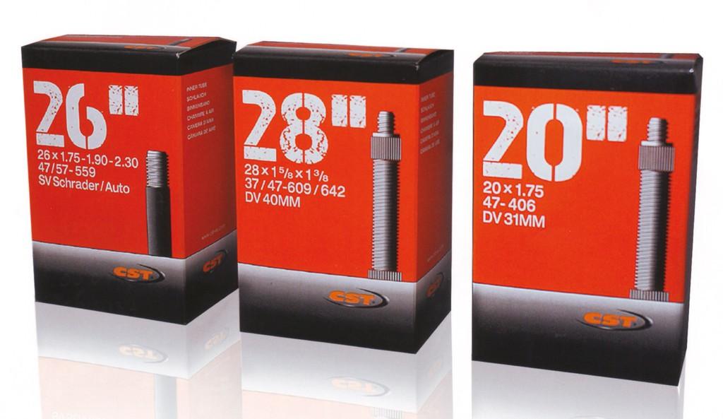 """Camera d´aria CST 27.5x2.25-2.40"""" 57/62-584 VS 40mm"""