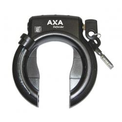 Lucchetto da telaio Axa Defender RL nero fissaggio alto, materiale fissaggio incluso