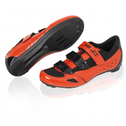 XLC scarpa da strada CB-R04 rosso/nero T. 46