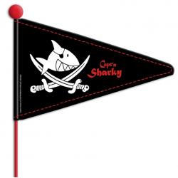 Bandierina Capt`n Sharky, stelo in 2 parti