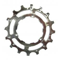 Pignone Stronglight per cassetta Shimano acciaio argento 16 d