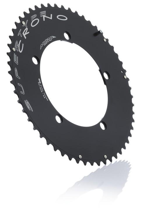 Corona Miche Crono BCD 130SH 54 d. 10V nero compatibile Shimano