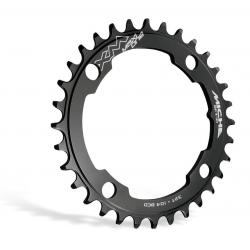 Pignone E-Bike Miche per Brose 32d.,sw XM Maxi one 36 denti,BCD 104 nero