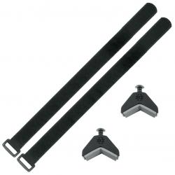 Adattatore SKS-Anywhere con portaborr. Plastica, nero