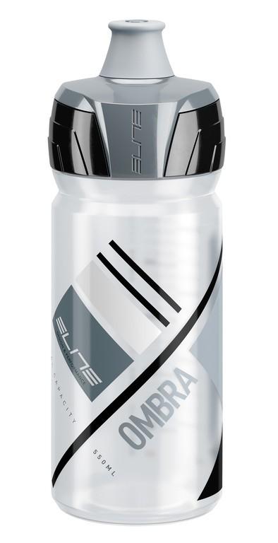 Borraccia Elite Ombra 550ml, trasparente/grigio