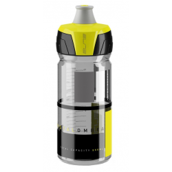 Borraccia Elite Chrystal Ombra 550ml, fumo/giallo