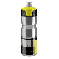 Borraccia Elite Chrystal Ombra 750ml, fumo/giallo