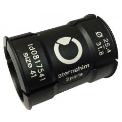 Boccola di riduzione Speedlifter Attacco manubrio Ø31,8mm-Ø25,4mm, nero