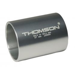 "Boccola di riduzione Thomson nera 37mm per att.man. A-Head forcella 1.1/8""a 1"""