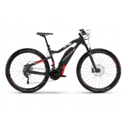 Haibike SDURO HardNine 10.0 500Wh 20-v. XT 18 YXC nero/rosso/argento op.