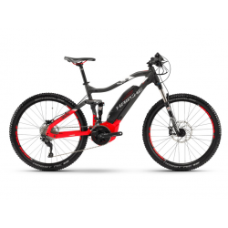 Haibike SDURO FullSeven 6.0 500Wh 20-v. Deore 18 YCC antracite/rosso/bianco