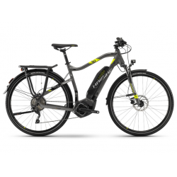 Haibike SDURO Trekking 4.0 He 400Wh 10-v. Deore 18 YWC antracite/nero/lime