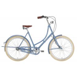 """EXCELSIOR Bici Olandese 26"""" GRAND ND TB 7V, Pigeon Blue"""