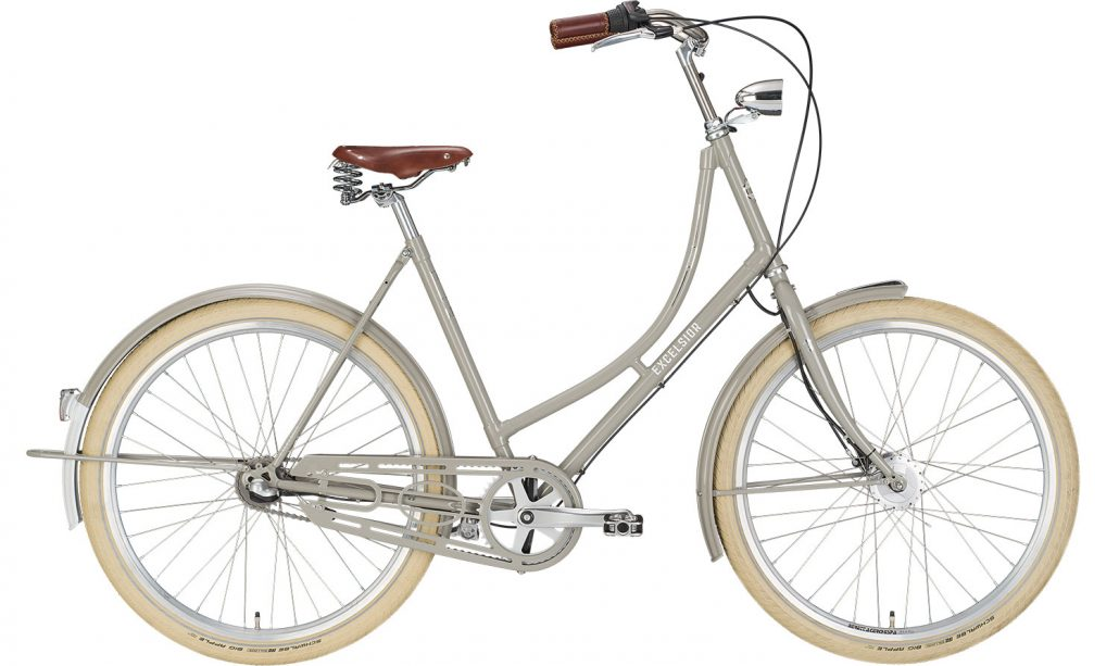 "EXCELSIOR Bici Olandese 26"" GRAND ND TB 3V, Stone Grey"