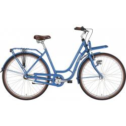 """EXCELSIOR Bici da città donna """"Swan-Retro ND FT Alu"""" 28"""", 7 Velocità, petrol"""