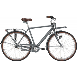 """7 Velocità EXCELSIOR Bici da città uomo """"Swan-Retro ND FT Alu"""" 28"""", basalt grey"""