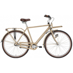 "7 Velocità EXCELSIOR Bici da città uomo ""Swan-Retro ND FT Alu"" 28"", Toffee"