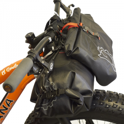 Revelate Designs Egress Pocket Handlebar Bag, waterproof, black