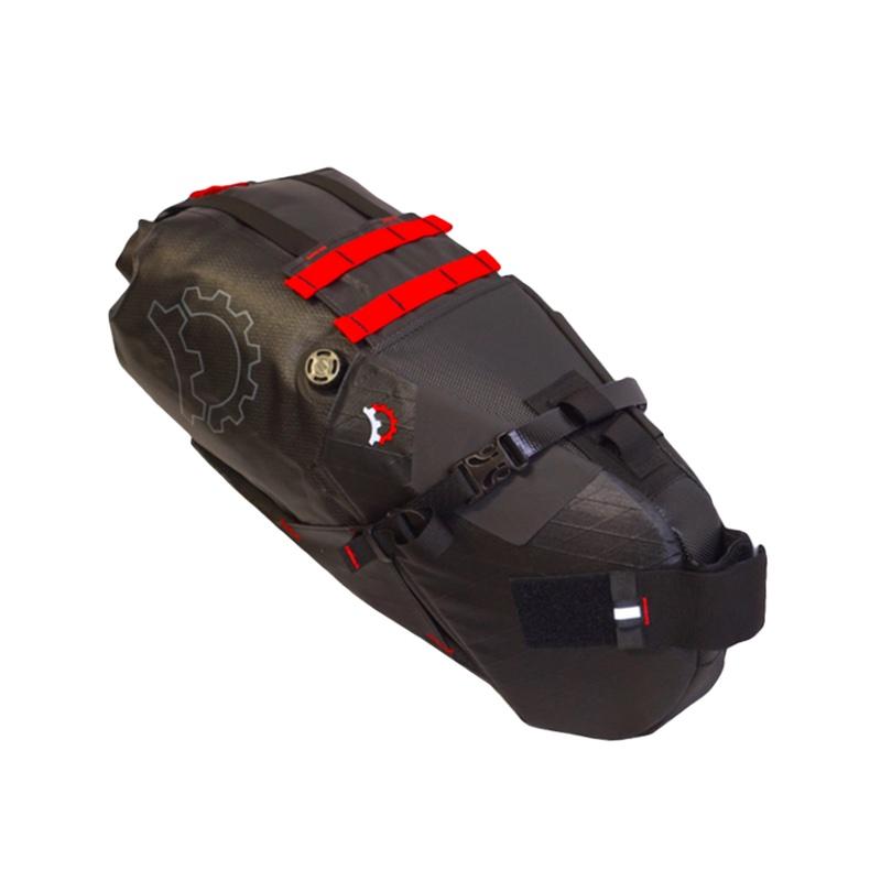 Revelate Designs Terrapin System Seat Bag, incl. waterproof Dry Bag, black