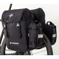 CROSSO Expert Bike Panniers 66L, Click System