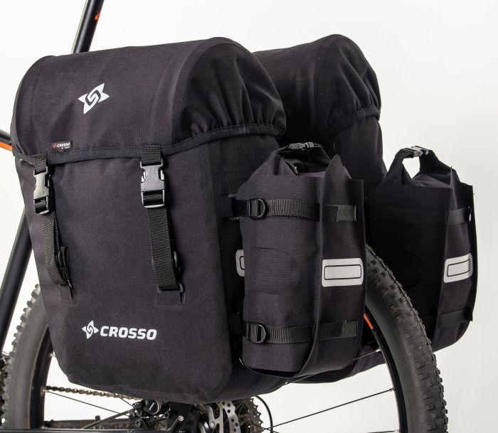 CROSSO Expert Bike Panniers 66L, Click System