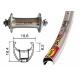 Ruota Anteriore QR 700C 105 Mavic OpenPro arg/arg