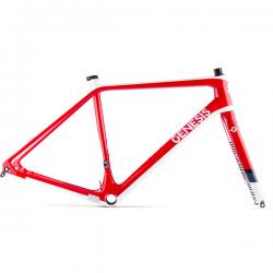 GENESIS Vapour Carbon CX Frameset Red Vapo