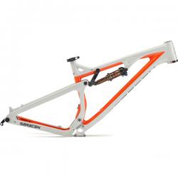 SARACEN Kili Flyer X Carbon Frame Bianco