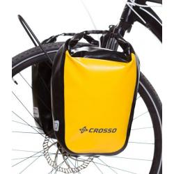 CROSSO Coppia Borse Cicloturismo DRY Small, 30 L