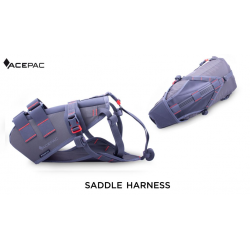 ACEPAC Saddle Harness - grigio