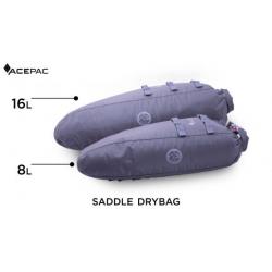 ACEPAC Saddle Drybag 16L - grigio