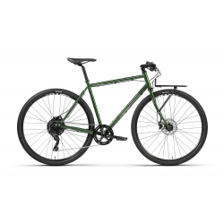 BOMBTRACK 2021 Arise Geared - glossy metallic green