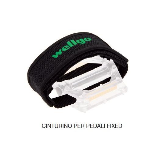 Wellgo Cinturini per pedali Bmx/Fixed