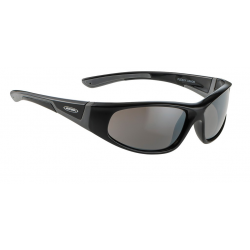 Alpina Flexxy junior nero/grigio, lenti Ceramic nero a specchio