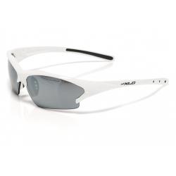XLC Occhiali da Sole Jamaica bianco, lenti a specchio