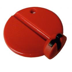 Tiraraggi tondo Nr. 2195 L, poliammide rossa