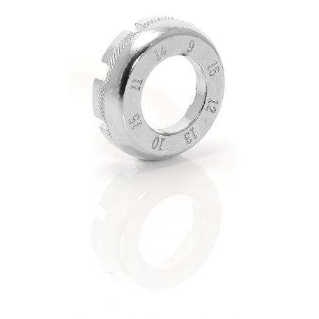XLC chiave per nippli di raggi TO-ND01 forma di piatto SB Plus
