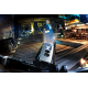Trelock Faro LED a pila Ecopower Control LS950 nero