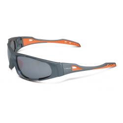 occhiali da sole XLC Sulawesi' SG-C10 montatura grigio/aranc.lenti riflessanti