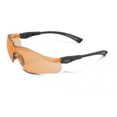 occhiali da sole XLC 'Borneo'' SG-F07 montatura nero lenti arancione