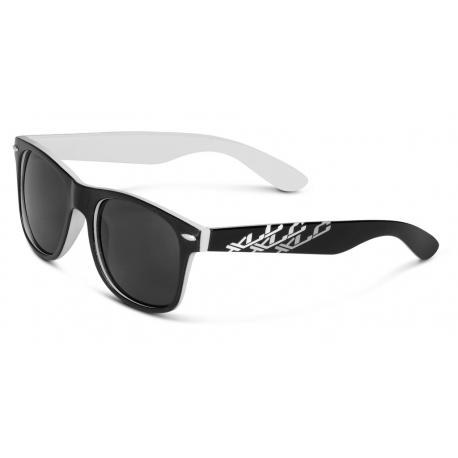 occhiali da sole XLC 'Madagaskar''SG-F06 montatura bianco/nero lenti col.fumo