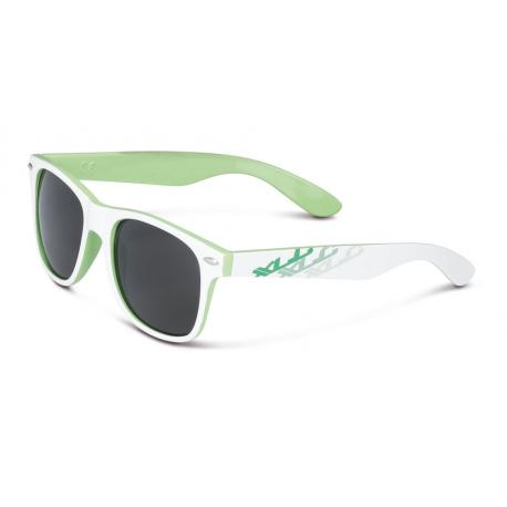 XLC occhiale da sole 'Madagaskar''SG-F06 Telaio bianco/verde occhiali col fumo