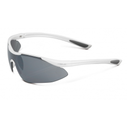 occhiali da sole XLC 'Bali'' SG-F09 montatura bianco, lenti riflessanti
