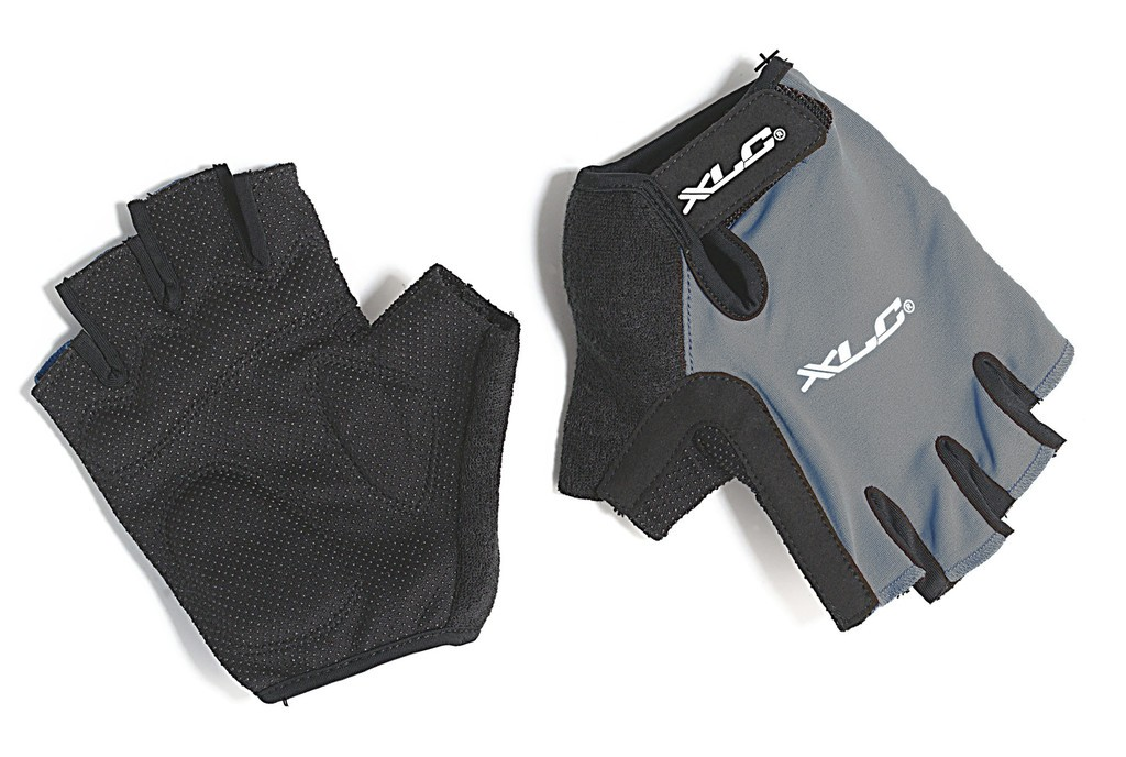 Guanti da ciclismo XLC Apollo grigio/nero